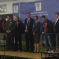 The candidates at the count at Newton Abbot Racecourse